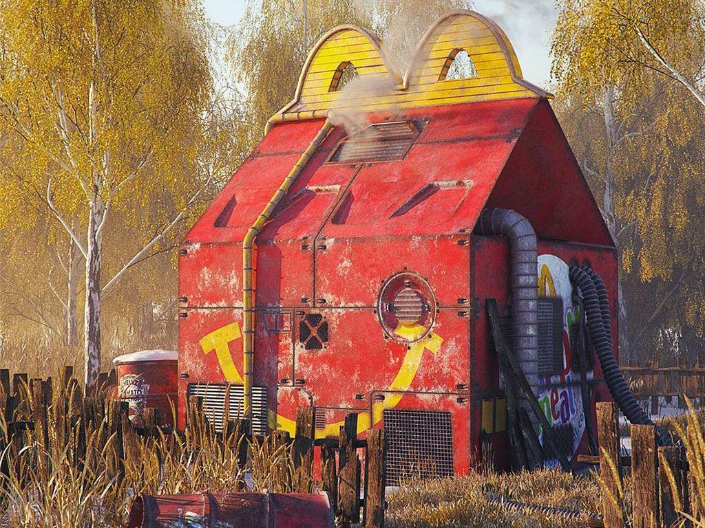 Les ruines Pop Modernes de Filip Hodas