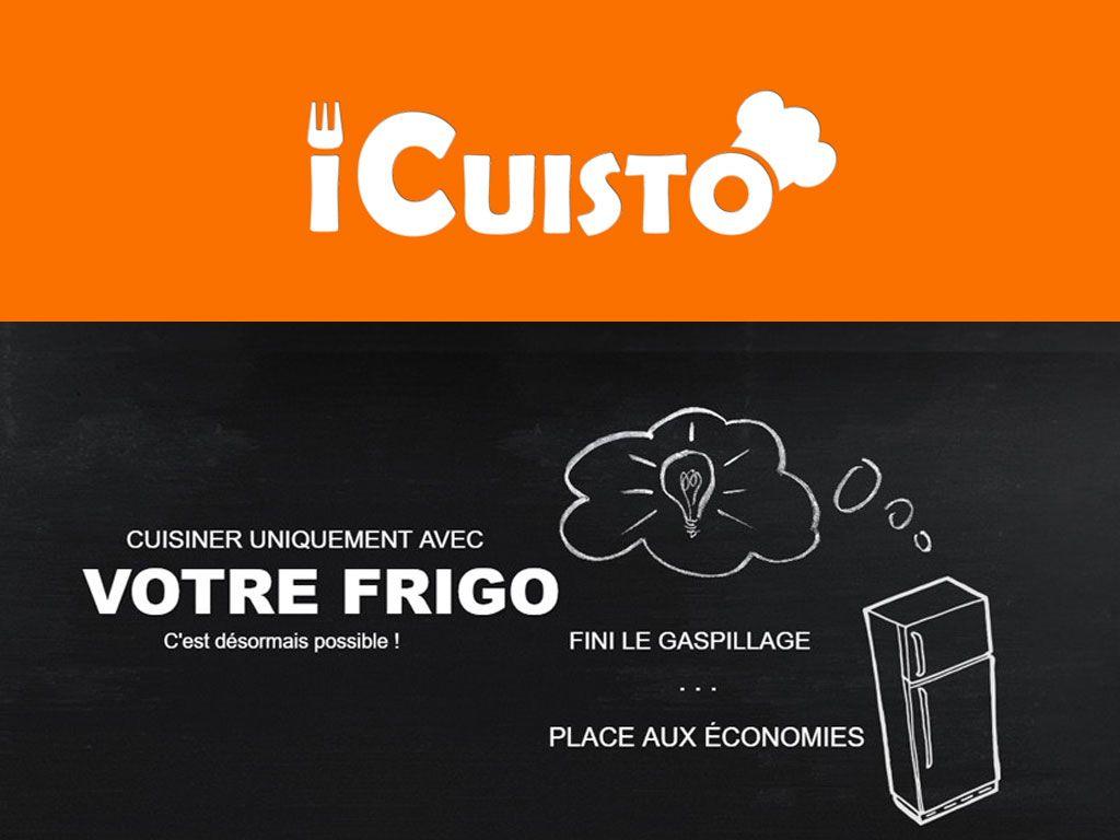 "Adieu le gaspillages avec ""iCuisto"""