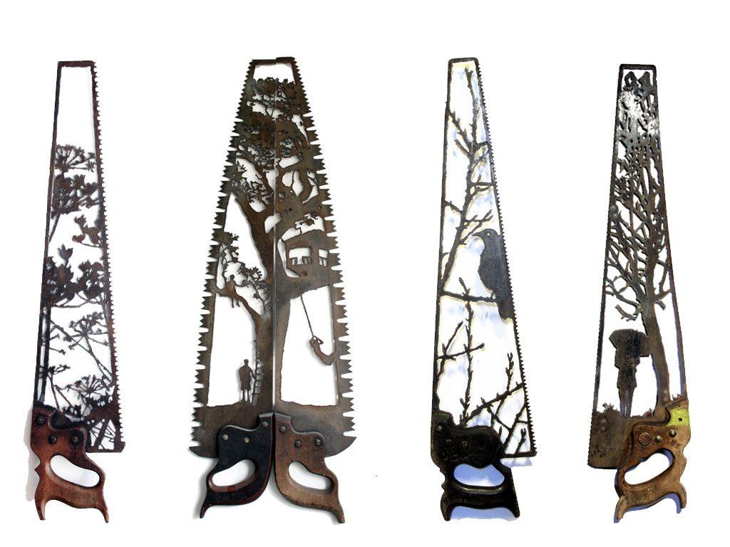 Les sculptures sur ferrailles de Dan Rawlings sont incroyables