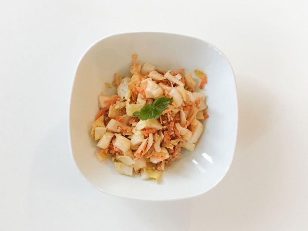 Une salade fraîcheur en 5 minutes