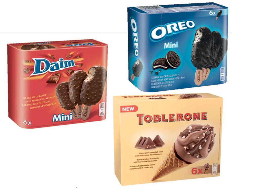 Des glaces inspirées de nos gourmandises chocolatées préférées !