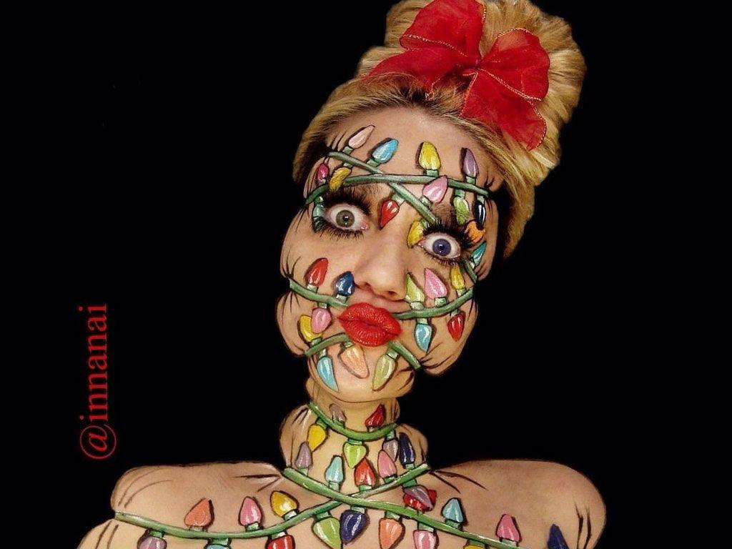 Les illusions d'optique de la maquilleuse Innanai