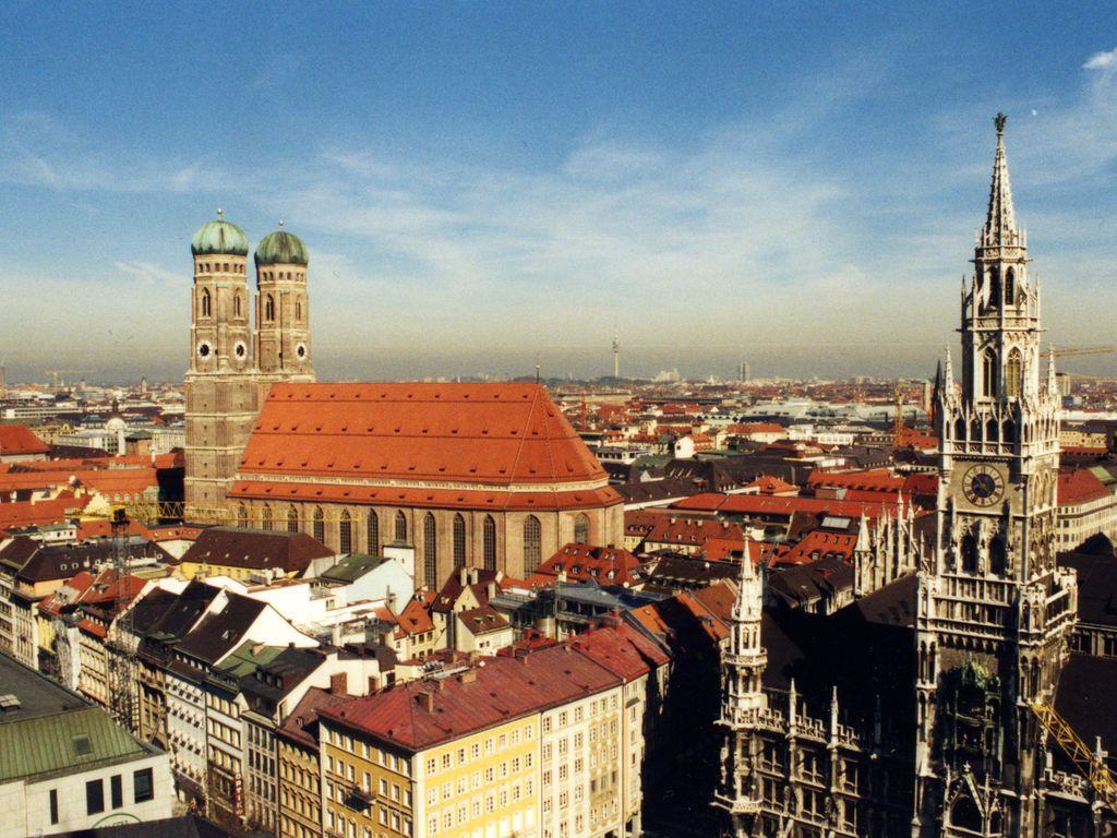 Munich l'été, cinq spots