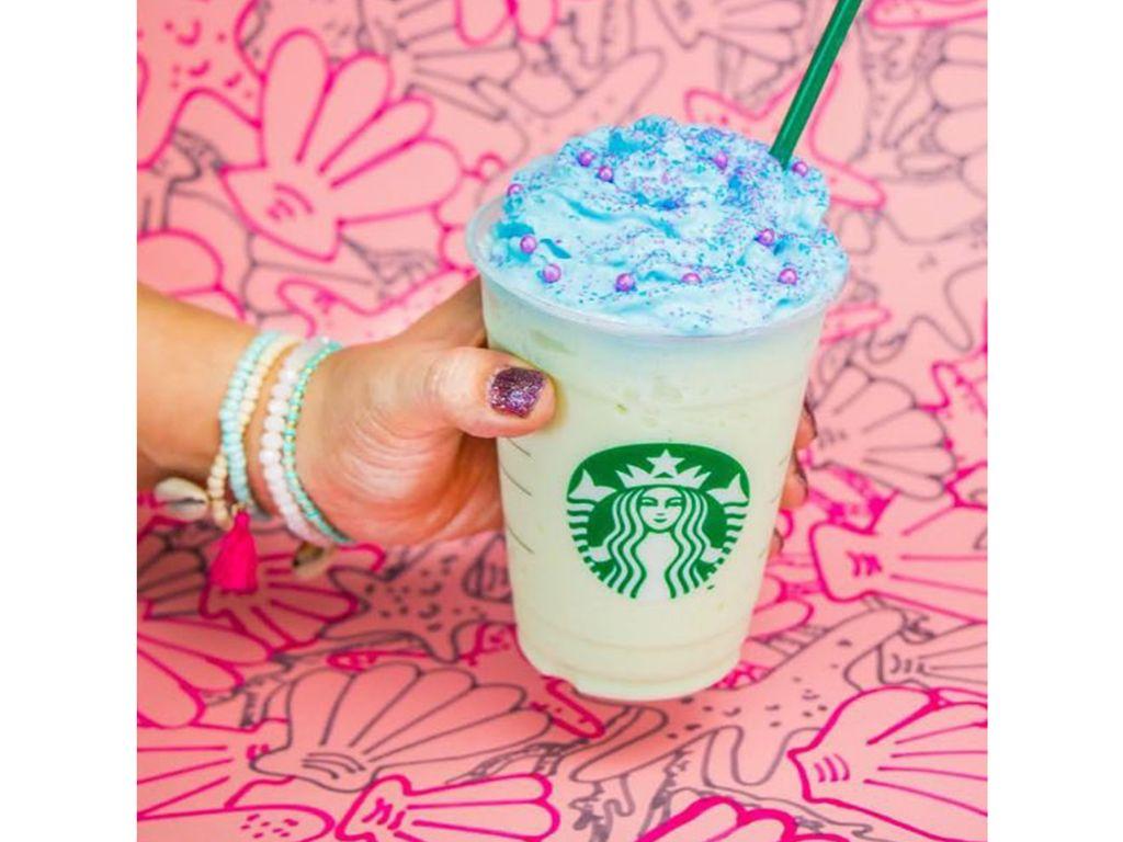 Starbucks lance un frappuccino sirène