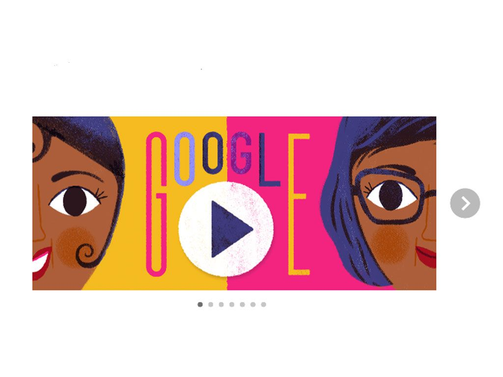 3 juin 2017 : un doodle en hommage à Joséphine Baker