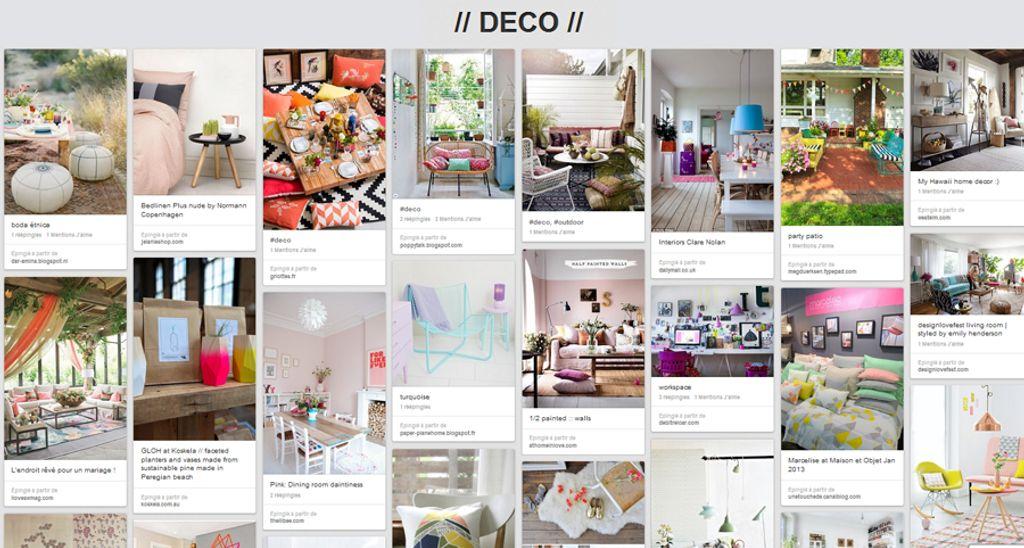 5 comptes Pinterest à suivre