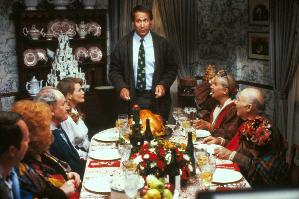 Ah, les fêtes de Noël en famille…