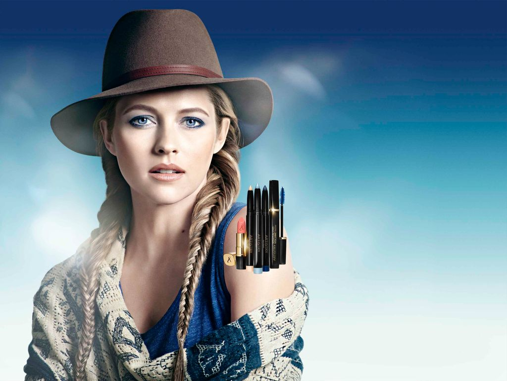 Ambiance Wetern Chic avec la nouvelle collection Make Up Artistry Indigo Skies