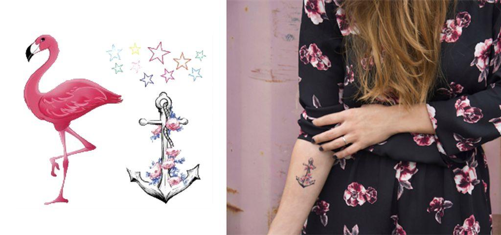 Avec les faux tatouages Otzi, je vois la vie en rose