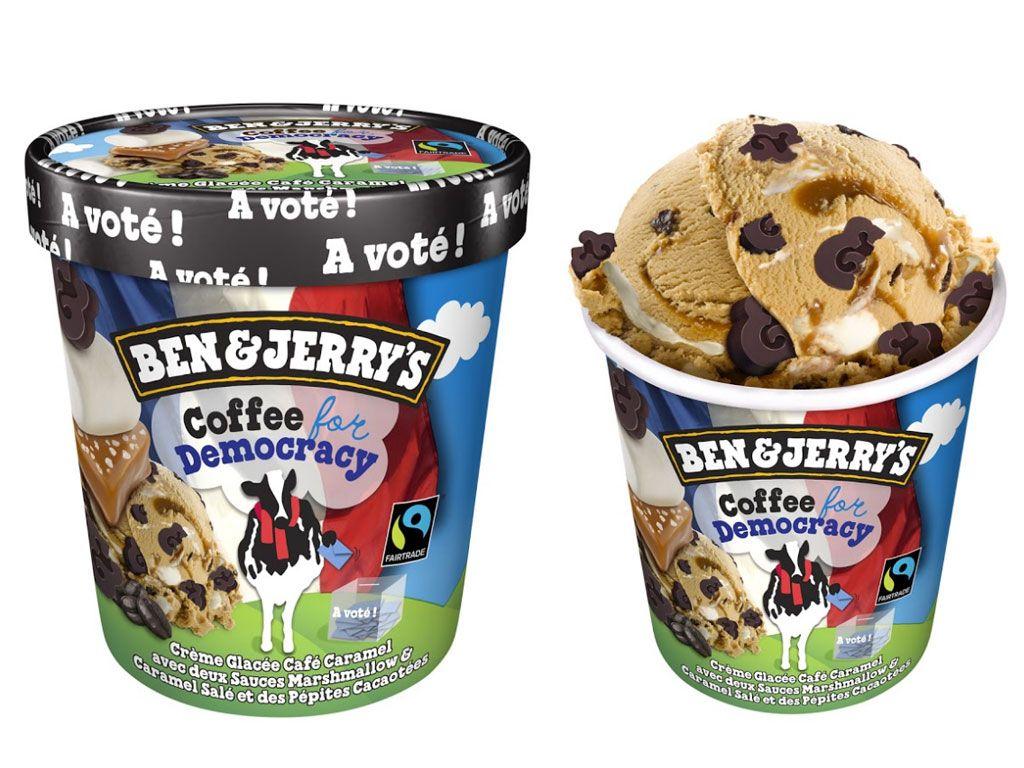Ben & Jerry's lance un nouveau parfum de glace