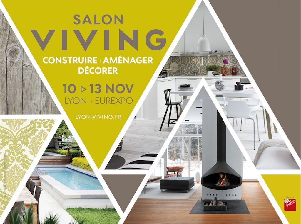 Besoin d'inspiration pour  changer votre intérieur ? RDV au salon Viving Lyon, le salon Habitat - Déco – Jardin