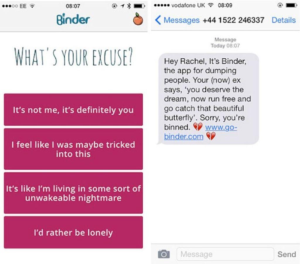 Binder, l'appli inutile du moment