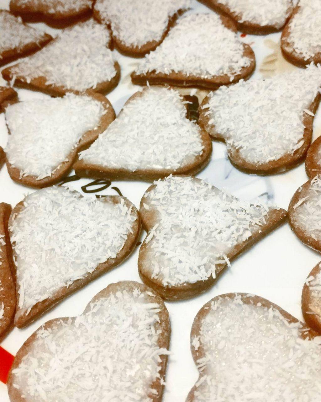 Biscuits de Noël à la cannelle et à la noix de coco