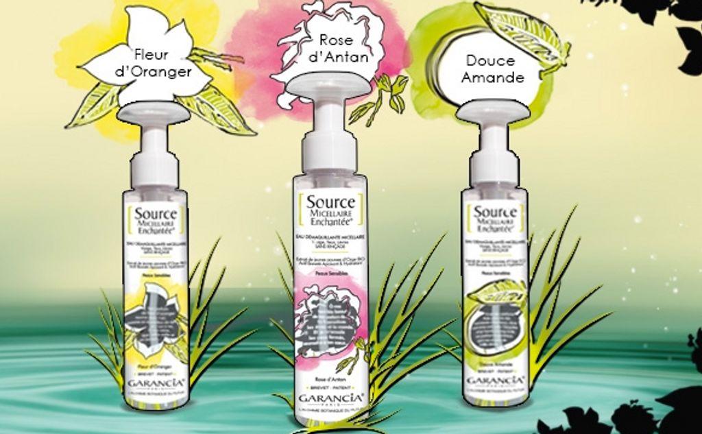 BON PLAN : une eau micéllaire Garancia offerte pour tout achat de 2 produits de la marque