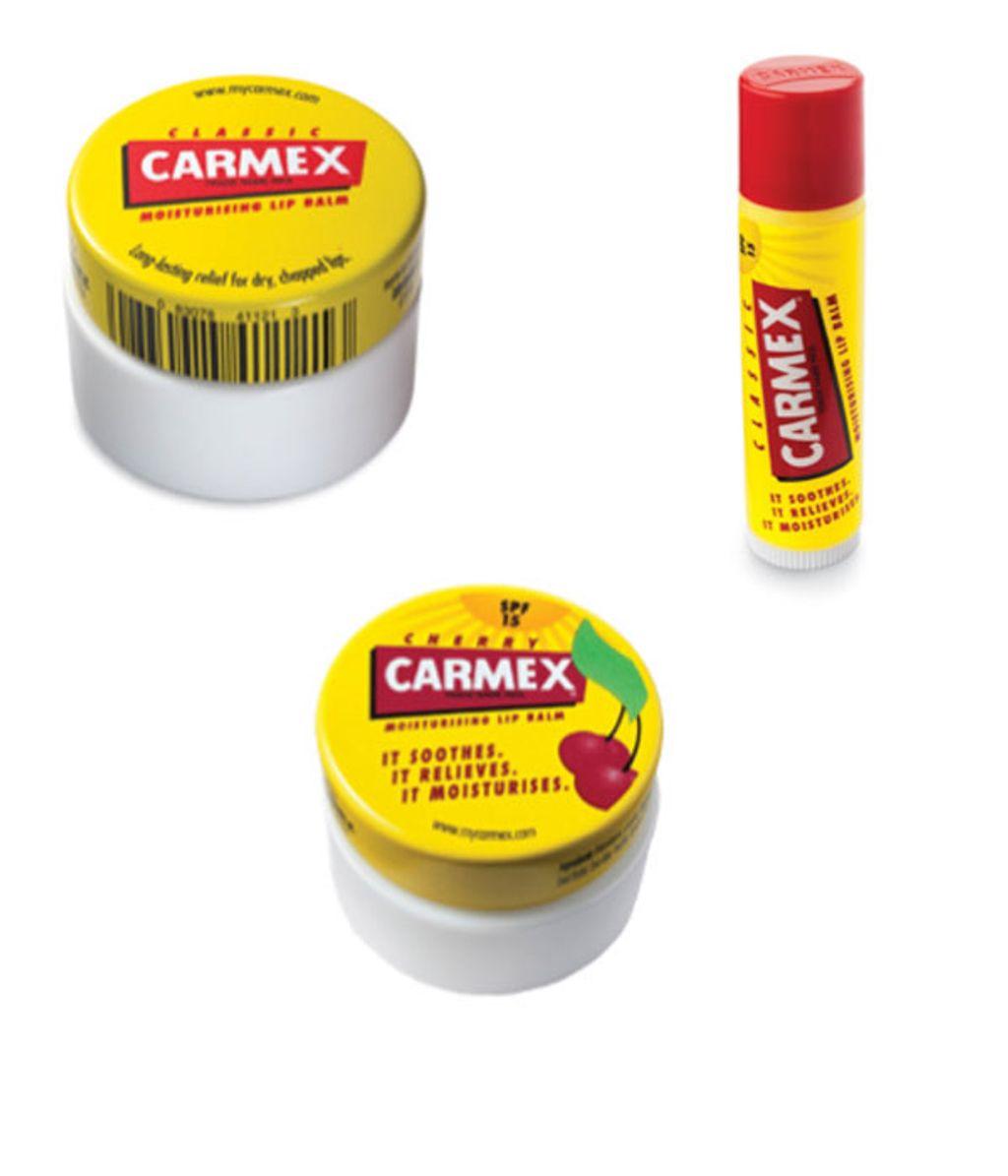 Carmex débarque en exclusivité chez Monoprix !