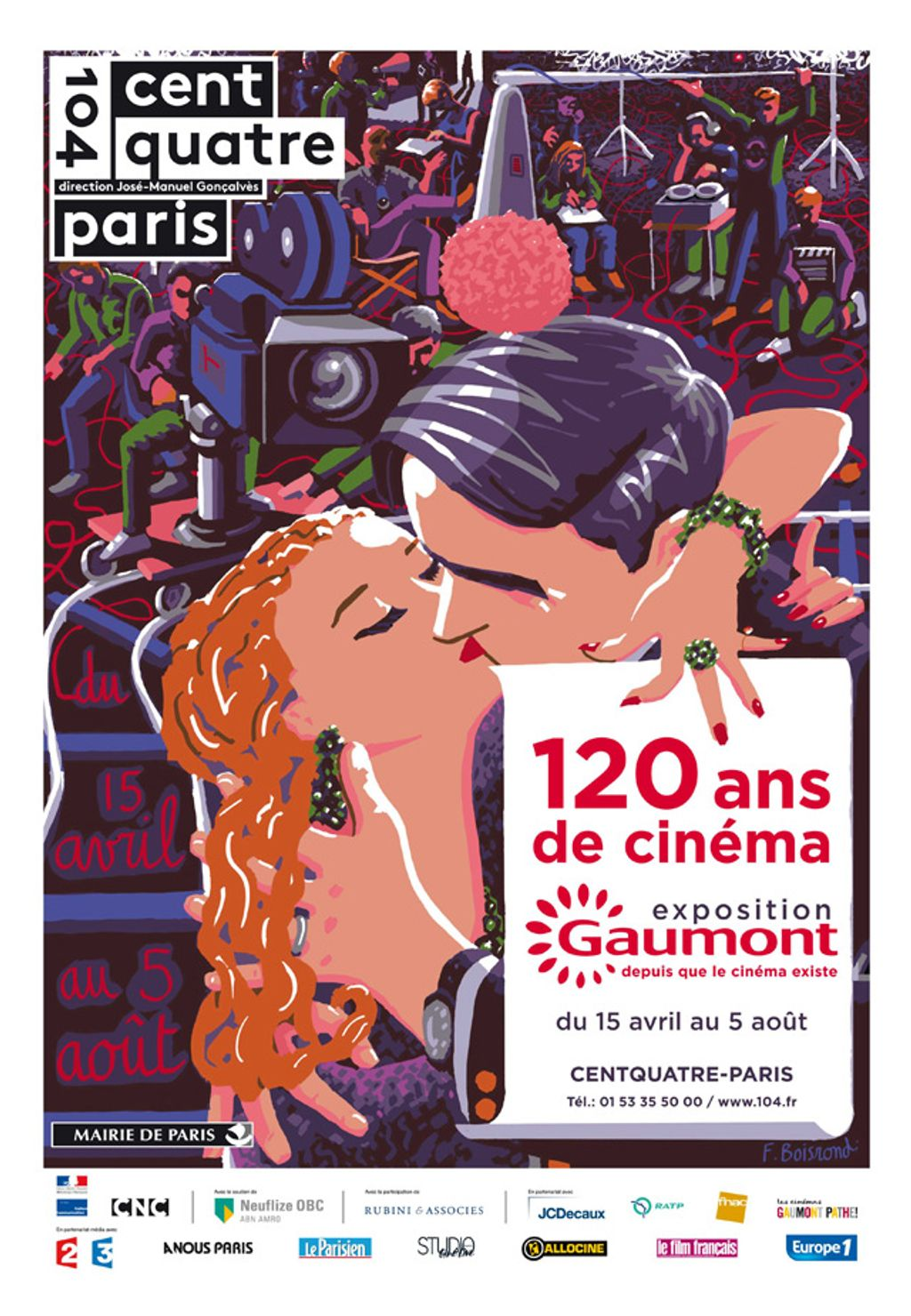 Célébrons 120 ans de cinéma avec Gaumont