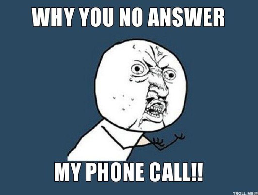 Ces moments où je ne décroche pas le téléphone