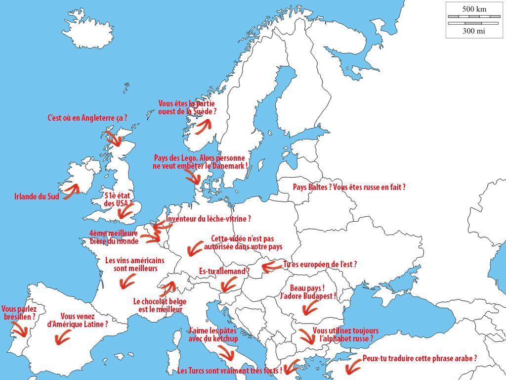 Comment énerver un européen en une seule phrase ?