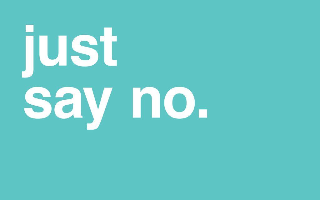 """Comment j'ai appris à dire """"non"""""""
