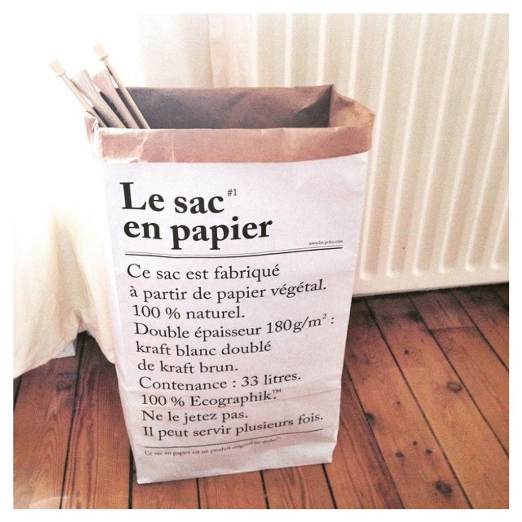 """Comment utiliser """"Le sac en papier"""" Be-Poles"""