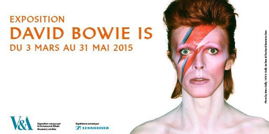 David Bowie s'expose à la Philarmonie de Paris