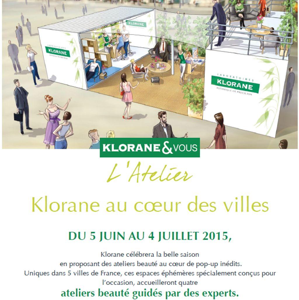 Découvrez les Pop-Up Stores de Klorane !