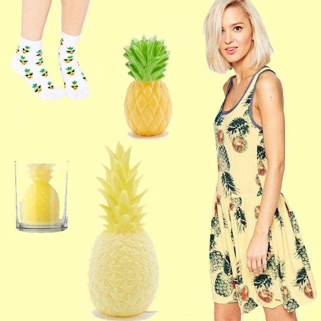 Des ananas, encore des ananas, toujours des ananas
