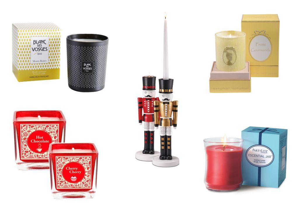 Des bougies chic et design pour les Fêtes !