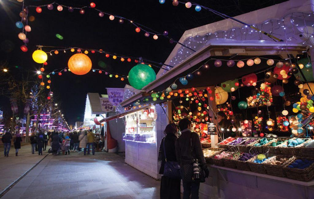 Des marchés de Noël sympas à Paris