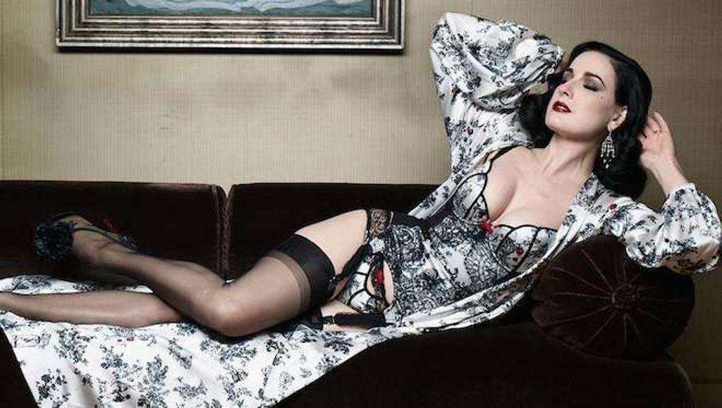 Dita von Teese X Louboutin, j'adore !