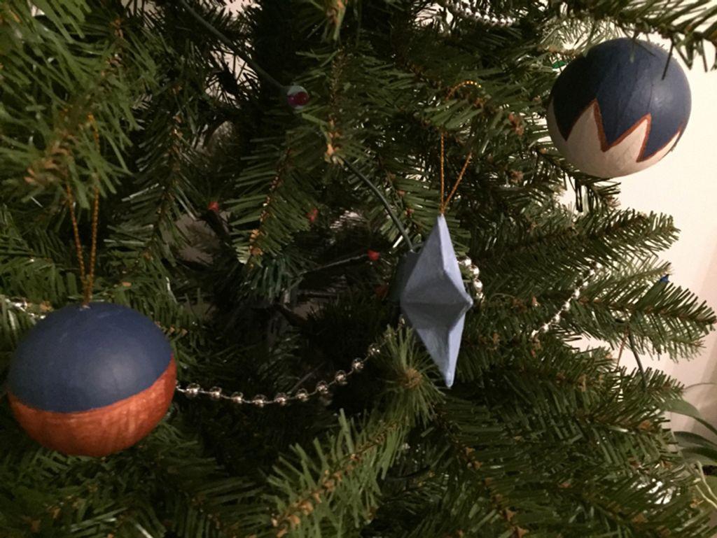 DIY : mes boules de Noël