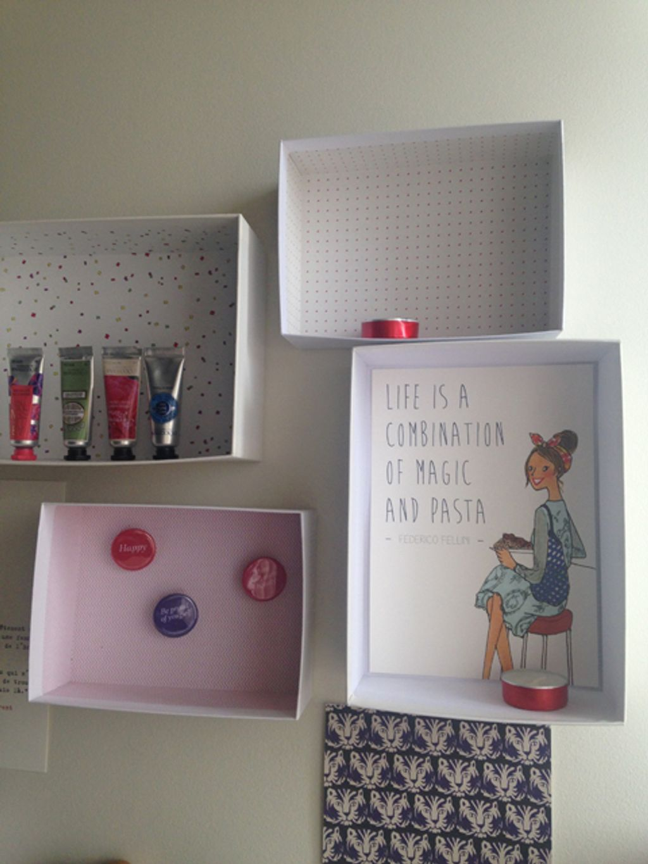 DIY : mes étagères My Little Box