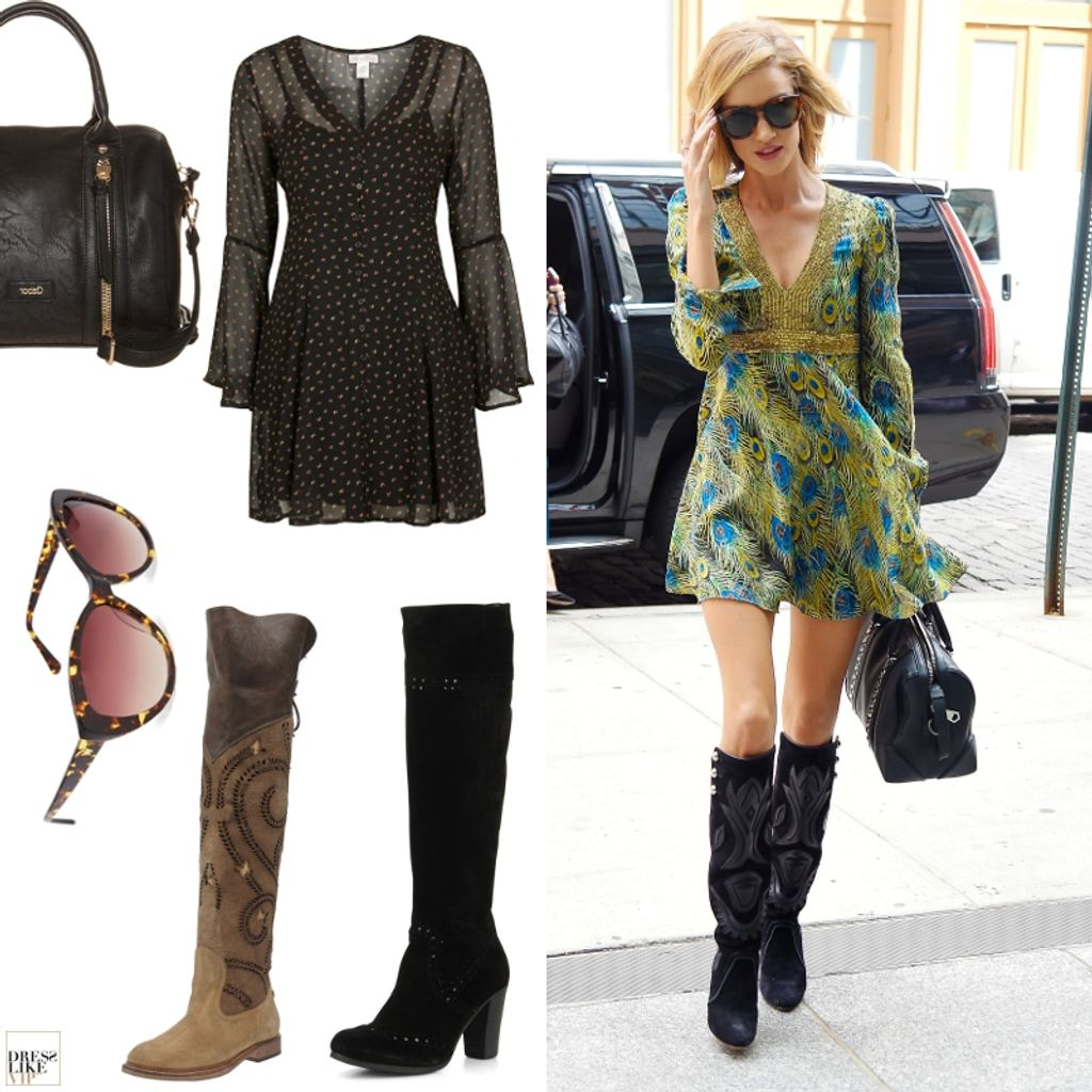 Dress Like Rosie Huntington-Whiteley