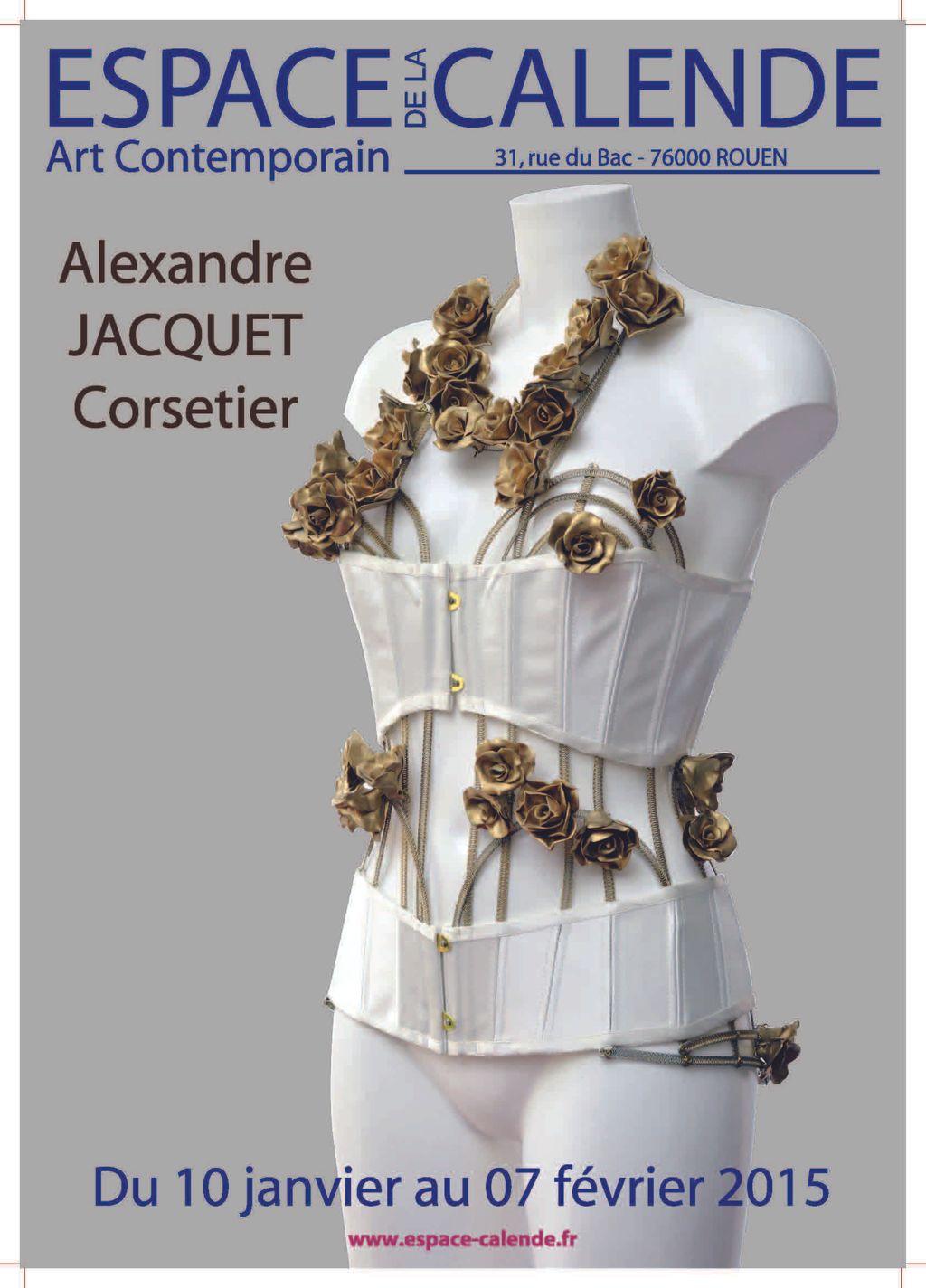 Exposition Sophie MORISSE, Alexandre JACQUET, Peinture et Corsets