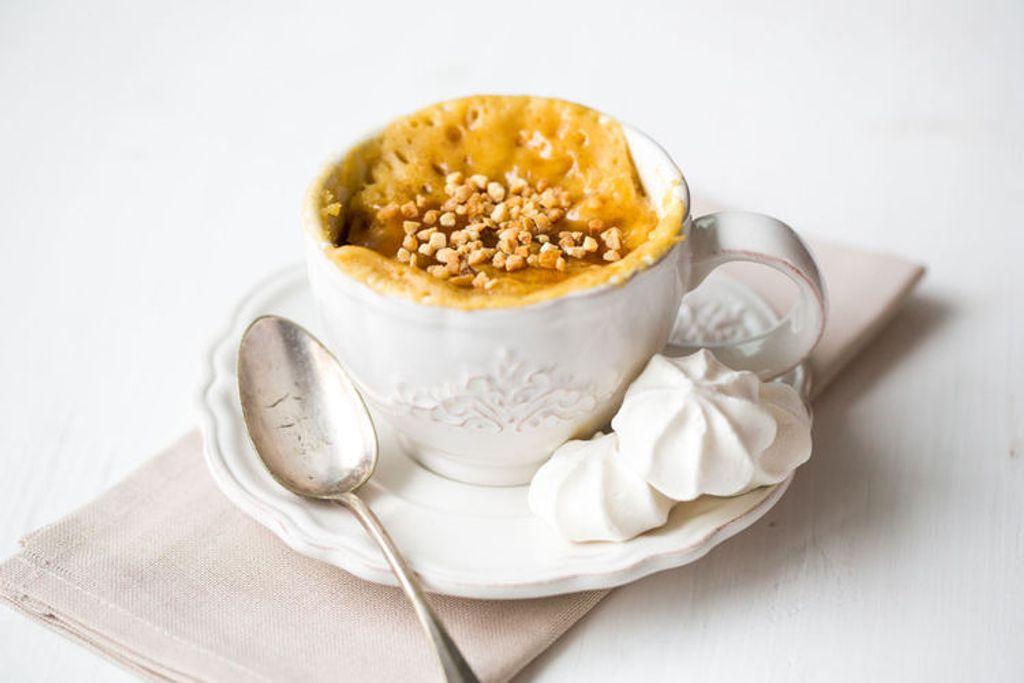Fêter l'épiphanie avec un mug-cake à la frangipane