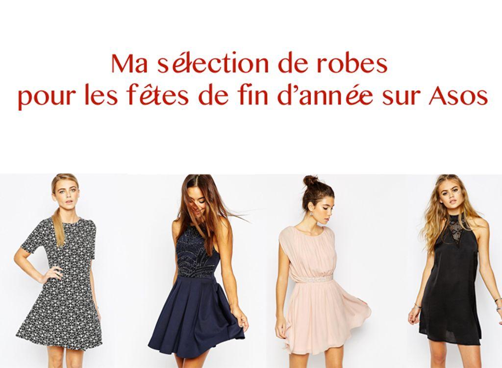 Fêtes de fin d'année : ma sélection de robes sur Asos