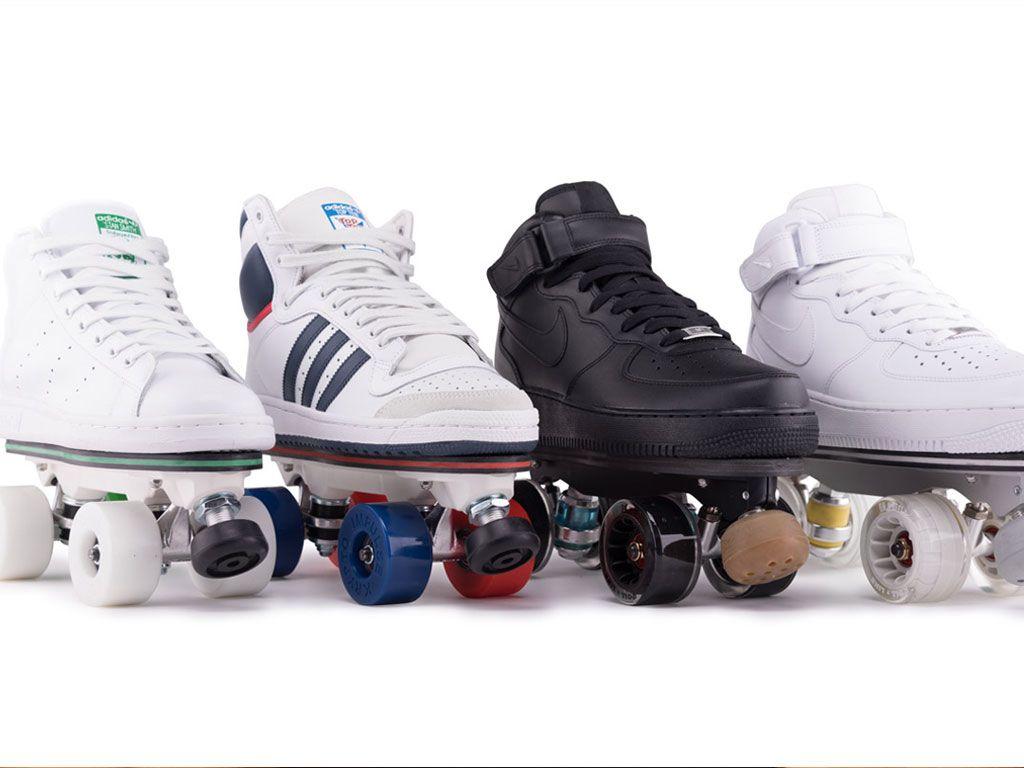 FlaneurZ : Chaussures ou patins à roulettes... Les deux !