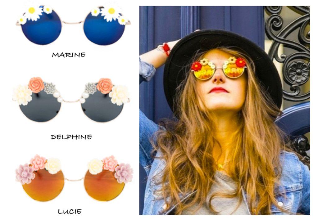 Fleurissez votre été avec les nouvelles lunettes de soleil Paquerettes Paris