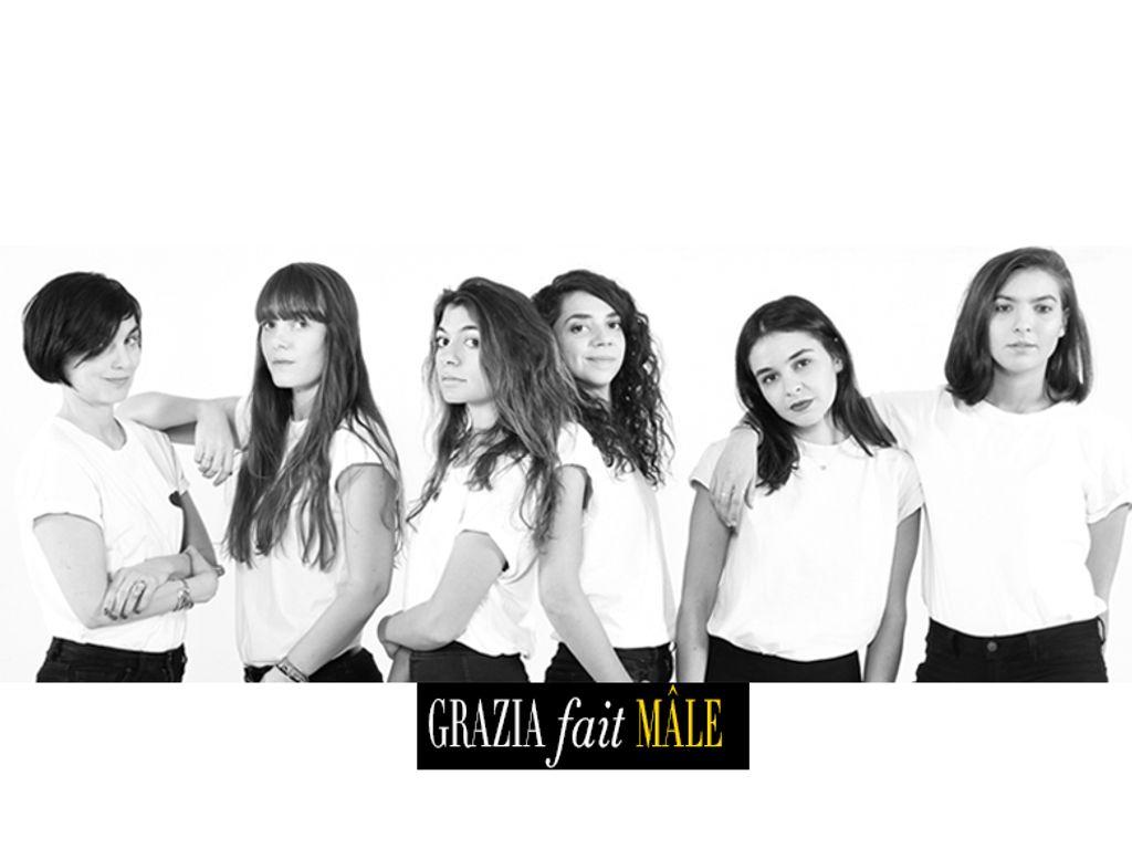 Grazia fait Mâle pendant la Fashion Week Homme