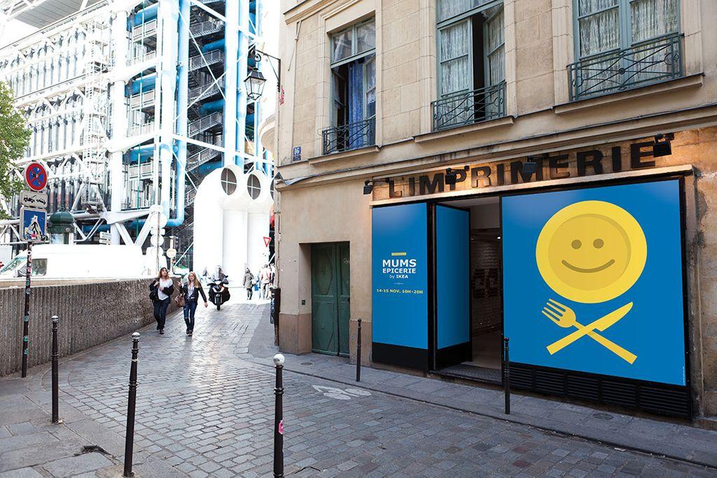 IKEA ouvre son épicerie éphémère en plein cœur de Paris