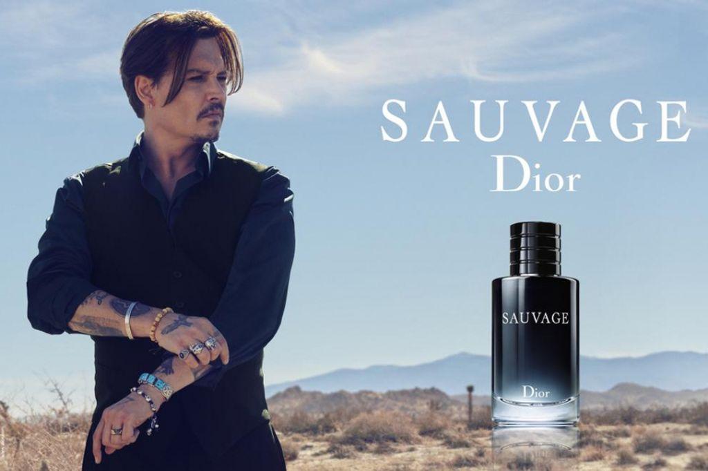 Johnny Depp devient Sauvage pour Dior