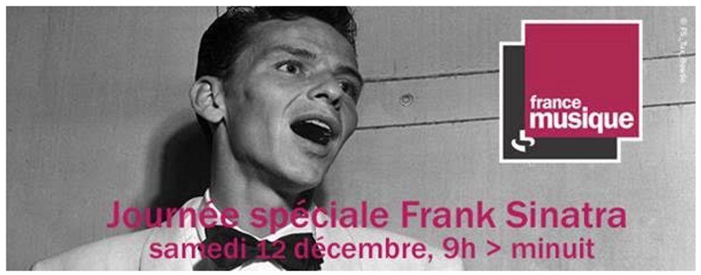 Journée spéciale Frank Sinatra sur France Musique le 12 décembre