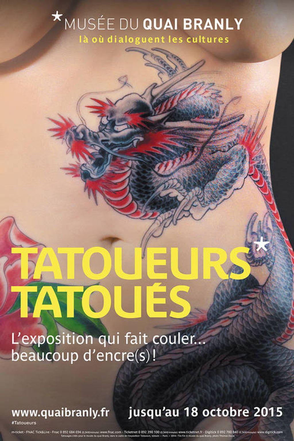 L'exposition Tatoueurs Tatoués : j'y étais !