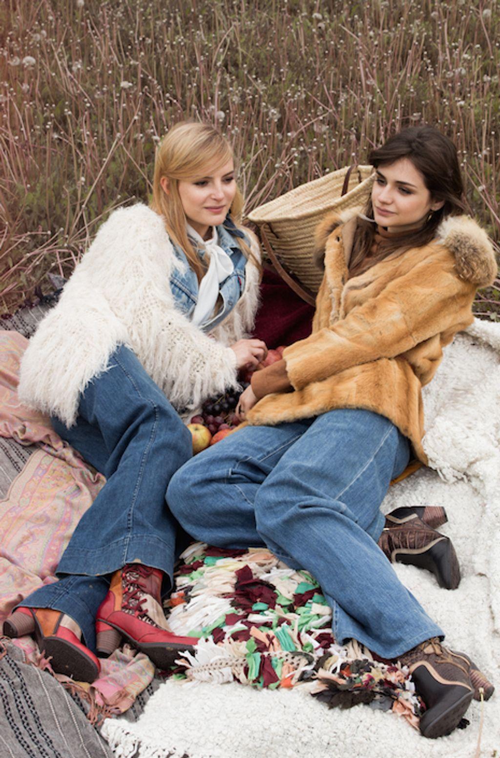 L'hiver 2015/2016 de Laura Vita : Entre inspirations vintage et mélange des couleurs et des matières