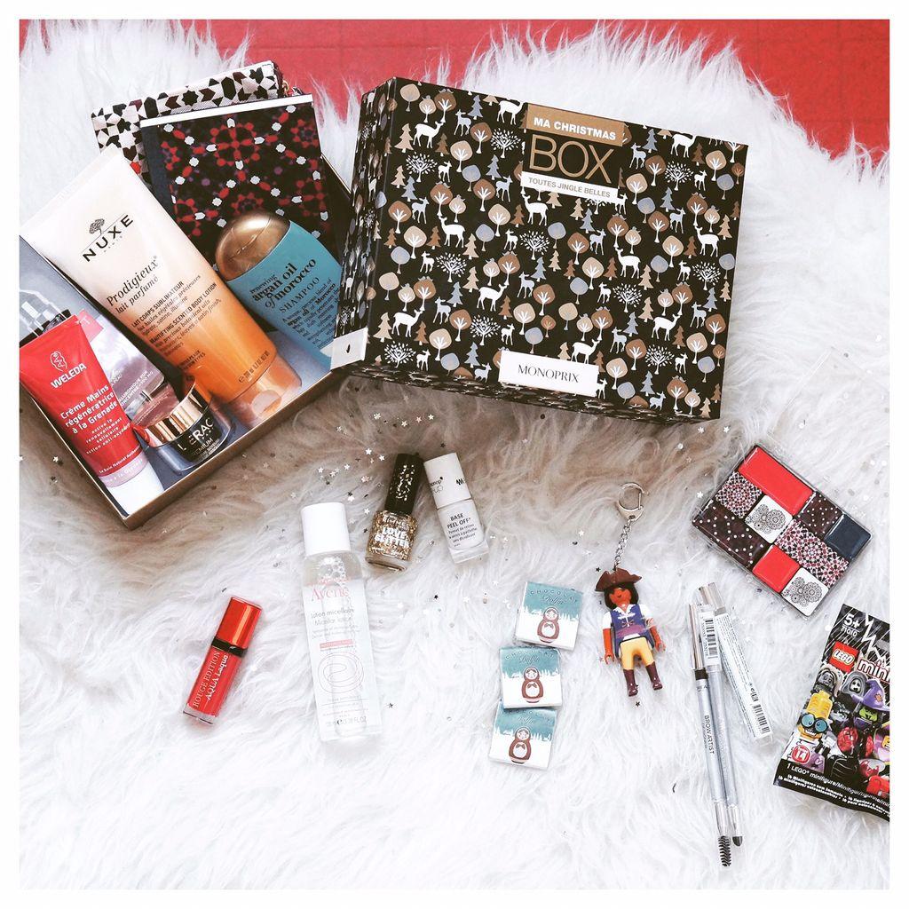 La Christmas box de Monoprix