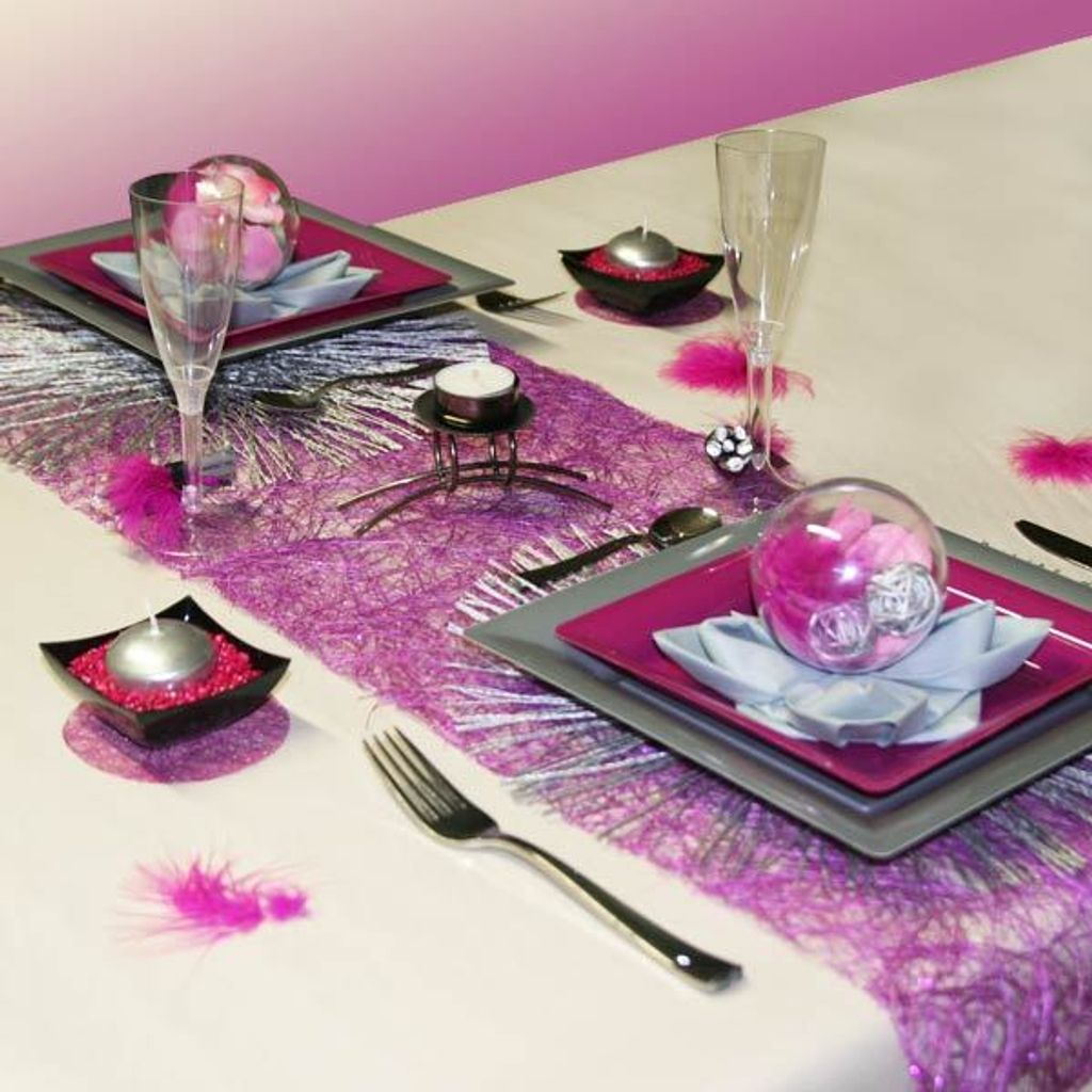 La décoration de table, tout un art !