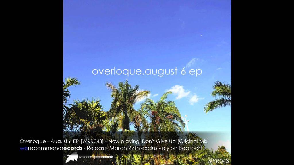 La playlist du mois d'août #4