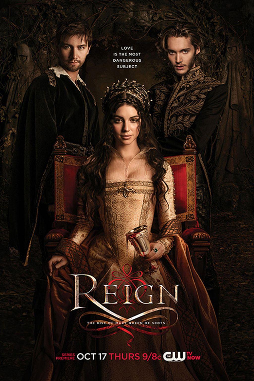 La série girly du moment : Reign
