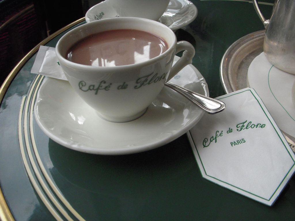 Le chocolat chaud, ce petit plaisir qui à un gout d'enfance.