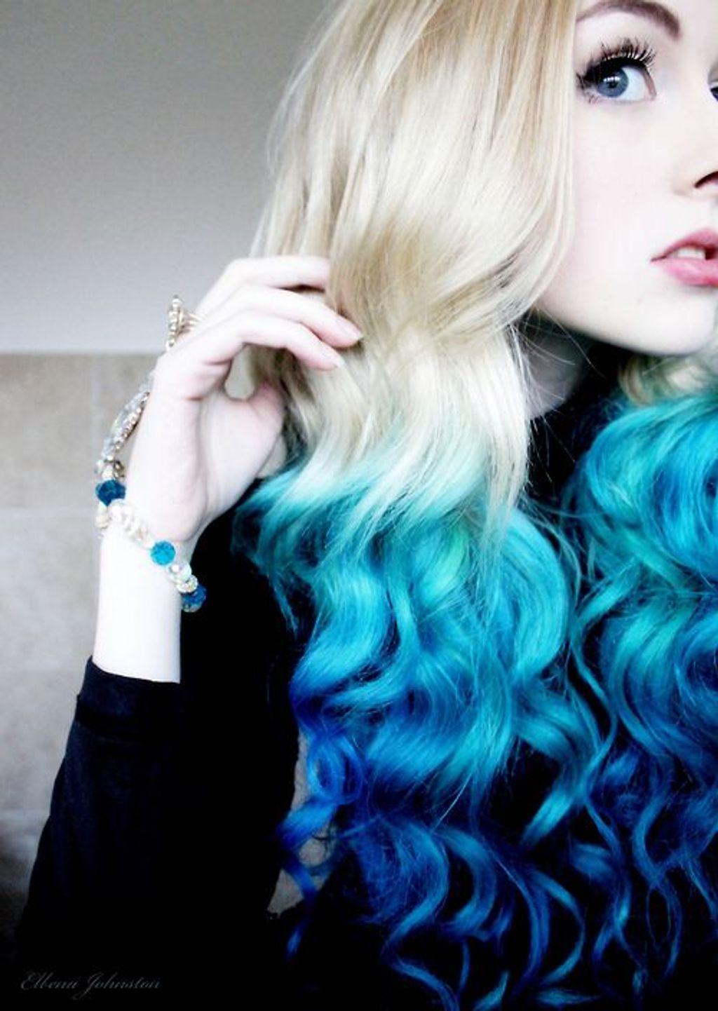"""Le """"Dip Dye Hair"""", la colo qui me fait de l'oeil"""